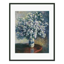 'Asters' by Monet Framed Painting Print