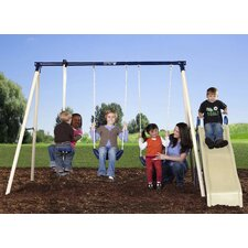 <strong>Flexible Flyer</strong> Swing N Glide III Gym Swing Set