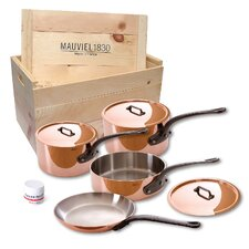M'Heritage Stainless Steel 7-Piece Cookware Set
