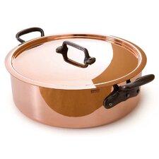 M'Heritage Copper Round Casserole