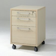 Prima 3 Drawer Mobile File Cabinet