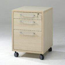 Prima 3 Drawer Mobile File Cabinet