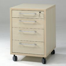 Prima 4 Drawer Mobile File Cabinet