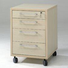 Prima 4 Drawer Mobile File Cabinet