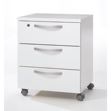Box 3 Drawer Mobile Filling Cabinet