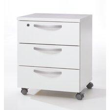 Box 3 Drawer Mobile Filling Cabinet