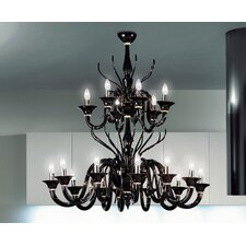 Belzebu 18 Light Chandelier