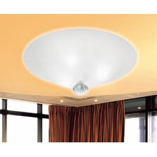 Caorlina Ceiling Light in Sand Blasted White