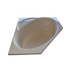 "48"" x 48"" Corner Whirlpool Tub"