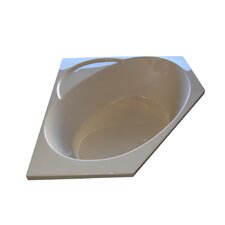 "48"" x 48"" Soaker Corner Bathtub"