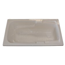 "<strong>American Acrylic</strong> 60"" x 30"" Soaker Arm-Rest Bathtub"