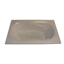 "72"" x 42"" Arm-Rest Whirlpool Tub"