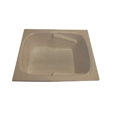 "60"" x 48"" Arm-Rest Whirlpool Tub"