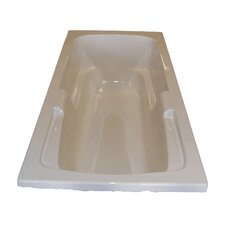 "<strong>American Acrylic</strong> 60"" x 32"" Soaker Arm-Rest Bathtub"