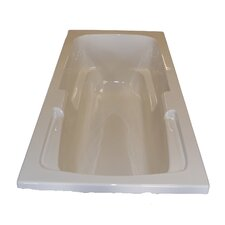 "60"" x 32"" Arm-Rest Whirlpool Tub"