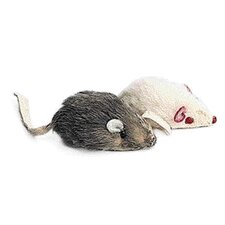 <strong>Ethical Pet</strong> Fur Mouse Cat Toy (2 Pack)