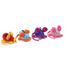 <strong>Ethical Pet</strong> Rattle Clatter Mouse Cat Toy