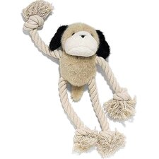 Moppets Plush and Rope Dog Toy Dog Toy