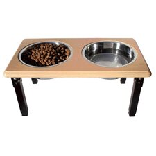 Posture Pro Adjustable Double Pet Diner