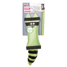 Spot Ballistic Tail Buddies Raccoon Dog Toy