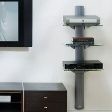 3 Shelf Wall System with Cable Management