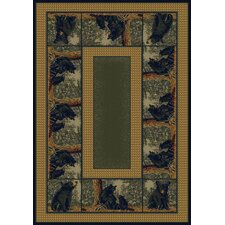 Hautman Bear Family Novelty Rug