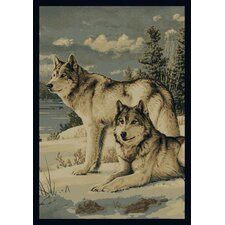 Hautman Watchful Pause Novelty Rug
