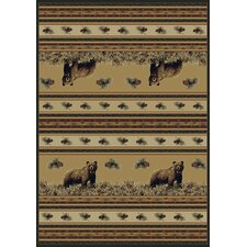 <strong>Marshfield</strong> Marshfield Pine Creek Bear Novelty Rug