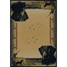Buckwear Duck Hunter Lodge Novelty Rug