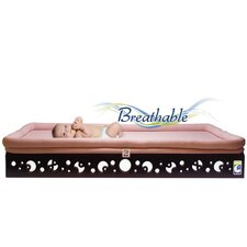 <strong>Secure Beginnings</strong> Contemporary Curves Crib Mattress Base with Sleep Surface