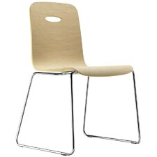 Gulp Chair with Sled Frame (Set of 4)