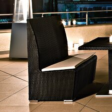 Metro Bench in Dark Brown by Varaschin R and D