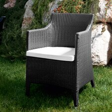 Kelly Armchair with Cushion by Varaschin R and D