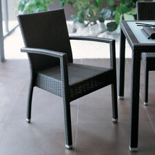 Lotus Stackable Armchair by Varaschin R and D (Set of 2)