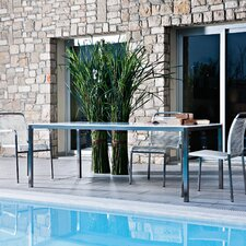 Marine Rectangular Steel Dining Table