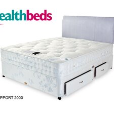 Dot Com Ortho Memory Foam Pocket Sprung Support 2000 Mattress