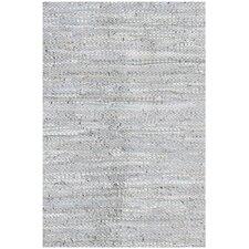 Silver Flatweave Rug