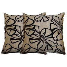 Decorative Polyester Pillow (Set of 2)