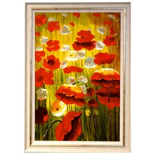 Blooming Garden Framed Original Painting