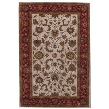 Aaryan Cream/Red Rug