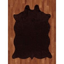 Animal Hide Brown Rug