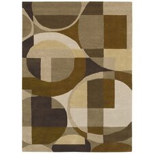 <strong>Acura Rugs</strong> Ashley Geometric Multi Rug