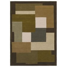 <strong>Acura Rugs</strong> Ashley Green/Multi Rug