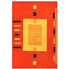 Contempo Orange/Yellow Rug