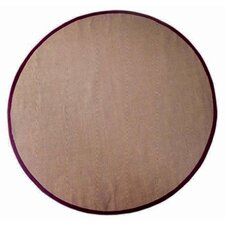<strong>Acura Rugs</strong> Jute Natural/Cherry Rug