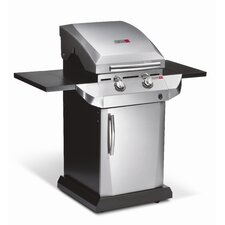 Performance 2-Burner TRU-Infrared Gas Grill with Folding Side Shelves