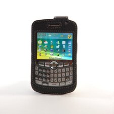 Blackberry Curve Leather Case in Black