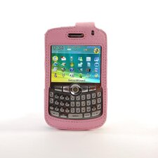 Blackberry Curve Leather Case in Pink