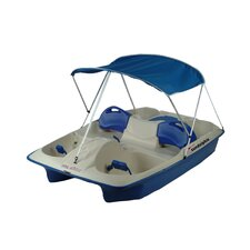 Deluxe Canopy for Pedal Boats in Blue