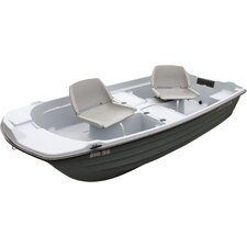 Pro 9.4' Sun Dolphin Fishing Boat in Light Gray / Dark Gray
